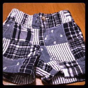 Gymboree boys shorts 6-12 months